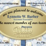 Premier Wedding Planner Sales Postcard